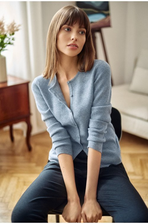 sweter damski kardigan